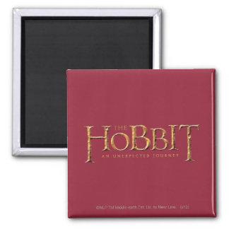 El logotipo de Hobbit texturizado Imán Para Frigorifico