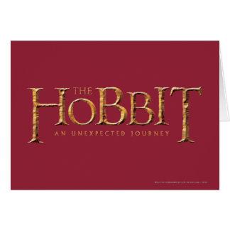 El logotipo de Hobbit texturizado Felicitacion