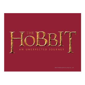 El logotipo de Hobbit texturizado Postales