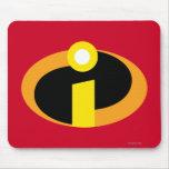 El logotipo de Incredibles Tapetes De Ratón