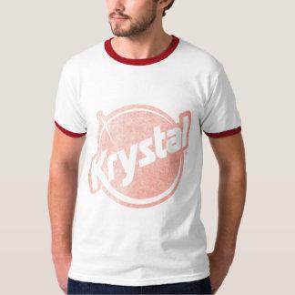 El logotipo de Krystal se descoloró Playera