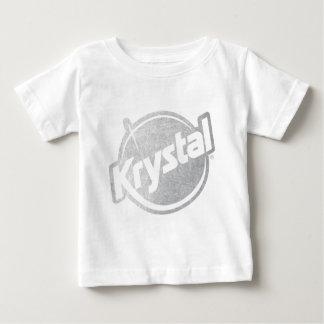 El logotipo de Krystal se descoloró Playera Para Bebé