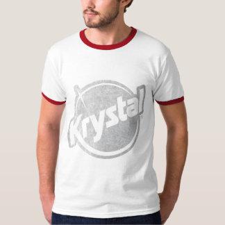 El logotipo de Krystal se descoloró Playeras