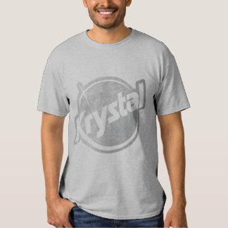 El logotipo de Krystal se descoloró Poleras