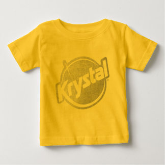 El logotipo de Krystal se descoloró Remeras