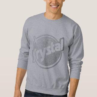 El logotipo de Krystal se descoloró Suéter