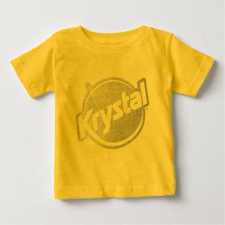 El logotipo de Krystal se descoloró T-shirt