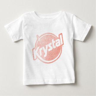 El logotipo de Krystal se descoloró Tee Shirt