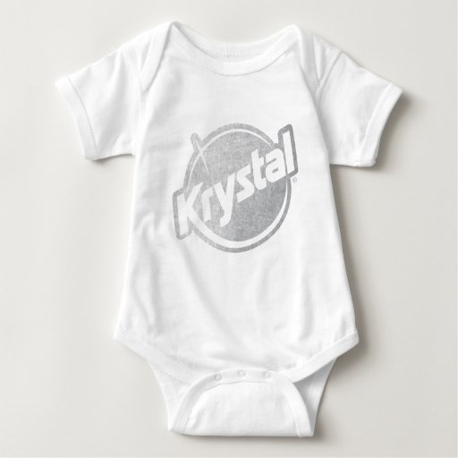 El logotipo de Krystal se descoloró Tee Shirts