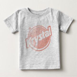 El logotipo de Krystal se descoloró Tshirt