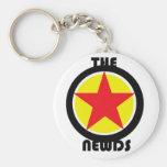 el logotipo de la estrella de Newds Llavero Personalizado