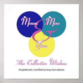 El logotipo de la sabiduría colectiva poster