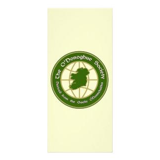 El logotipo de la sociedad de O'Donoghue Tarjeta Publicitaria Personalizada