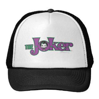 El logotipo del comodín gorras