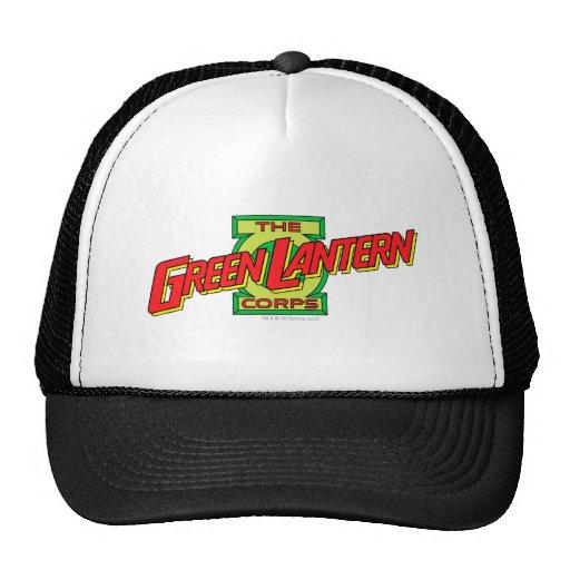 El logotipo del cuerpo de la linterna de Gren Gorros