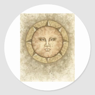 El logotipo del emporio de Shilo Etiqueta Redonda