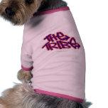 El logotipo del funcionario de la tribu camisas de perritos