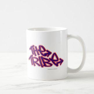 El logotipo del funcionario de la tribu taza de café