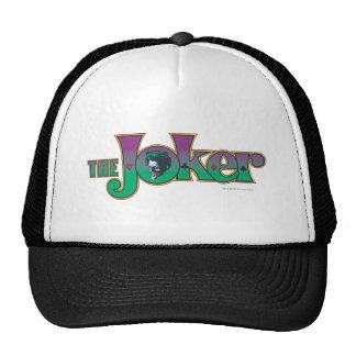 El logotipo del nombre del comodín gorra