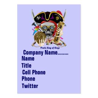 El logotipo dual del carnaval del carnaval ve por tarjetas de visita grandes