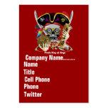 El logotipo dual del tema del negocio ve por favor tarjeta personal