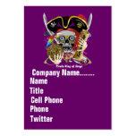 El logotipo dual del tema del negocio ve por favor plantillas de tarjetas personales