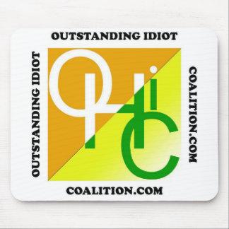 El logotipo excepcional de la coalición del idiota tapetes de ratones