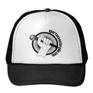 El logotipo icónico de la radio espartano gorras