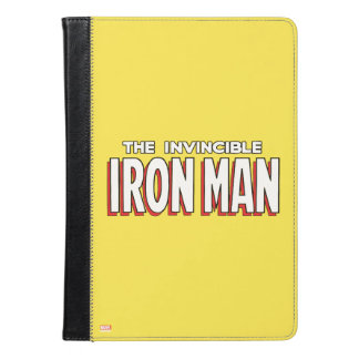 El logotipo invencible del hombre del hierro