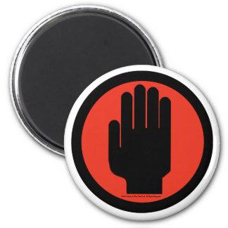 El logotipo oficial elegido imán redondo 5 cm