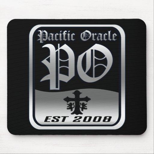 El logotipo pacífico de Oracle Tapete De Raton