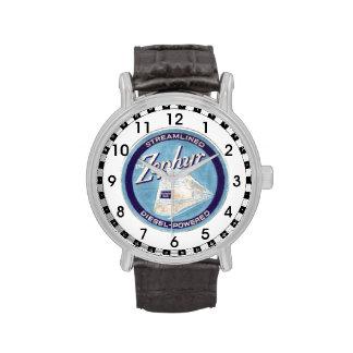 El logotipo pionero 1934 del Zephyr Relojes De Mano