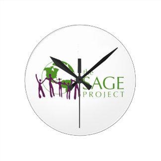 El logotipo SABIO del proyecto Reloj