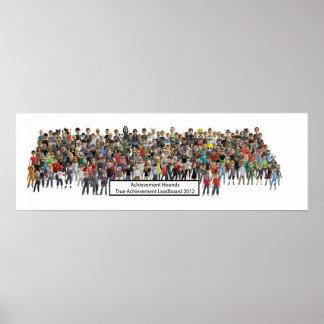 El logro persigue el poster 2012 del Leaderboard d