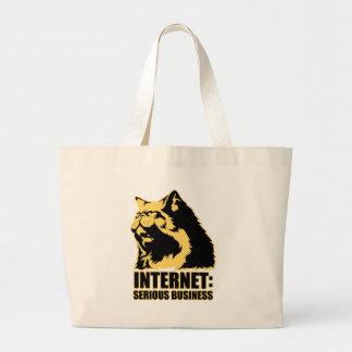 el lolcat el Internet es negocio serio Bolsas