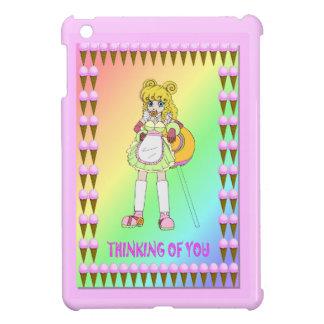 El lollipop de Lisa y helado iPad Mini Protector
