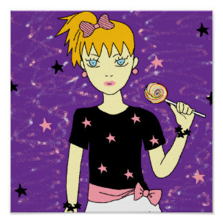 El Lollipop protagoniza al chica Posters