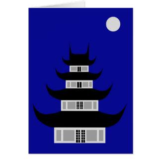 El Longhua Temple Tarjeta De Felicitación