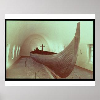 El longship de Gokstad (madera) Impresiones