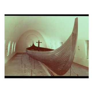 El longship de Gokstad (madera) Tarjetas Postales