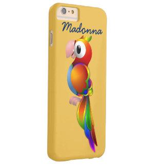 El loro más lindo con el caso del iPhone 6 del Funda De iPhone 6 Plus Barely There