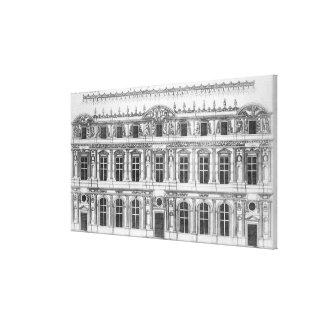 El Louvre Impresiones En Lienzo Estiradas