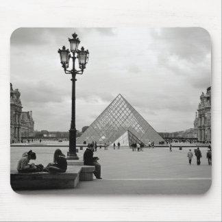 El Louvre Mousepad Alfombrilla De Ratón