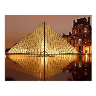 El Louvre, París, Francia Tarjetas Postales