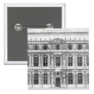 El Louvre Pin Cuadrado