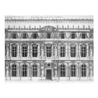 El Louvre Tarjeta Postal