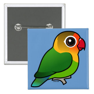 El Lovebird de Fischer Pin