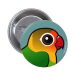 El Lovebird de Fischer Pin Redondo 5 Cm