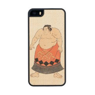 El luchador del sumo funda de arce carved® para iPhone 5
