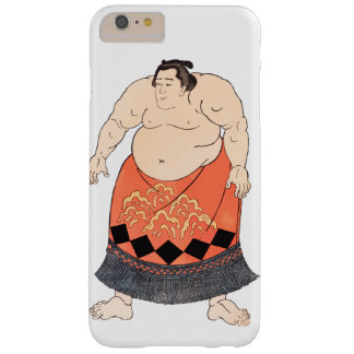 El luchador del sumo funda de iPhone 6 plus barely there